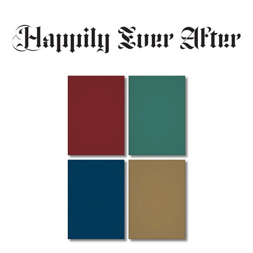 [Keno set of 4] New East (Nu`est) - Mini6 house [Happily Ever After] (Ver. 1. 2. 3. 4)