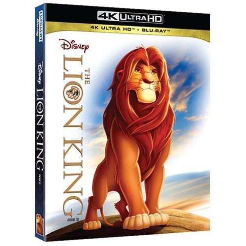 라이온 킹 (THE LION KING) 2D & UHD COMBO BLU-RAY [2 DISC]