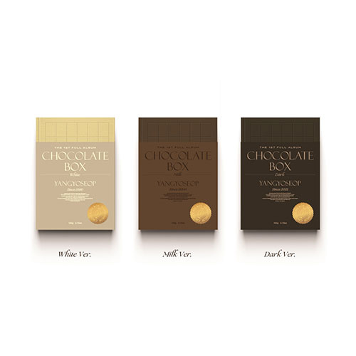 [세트] 양요섭 (YANGYOSEOP) - 정규1집 [Chocolate Box]