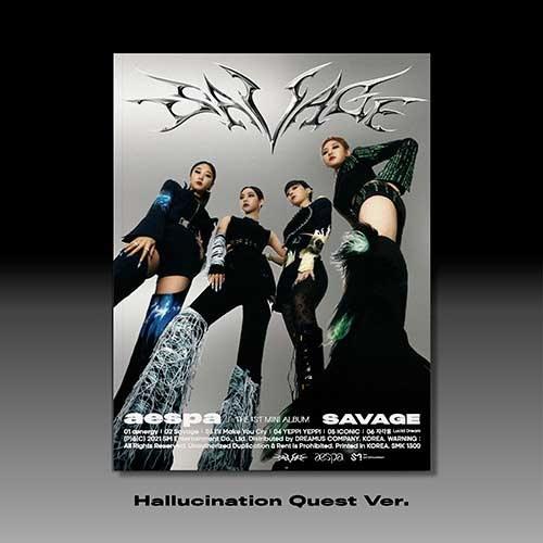 에스파(aespa) - 미니1집 [Savage] (Hallucination Ver.)